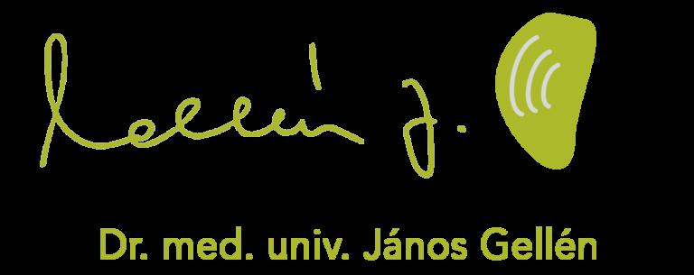 Logo der ORDINATION DR. MED. UNIV. JÁNOS GELLÉN